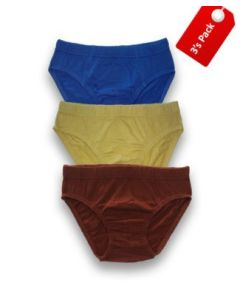 YOYO BOY'S BRIEF IE (3 Pcs Pack)